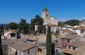 Visita al nucli antic de Santa Cristina d'Aro